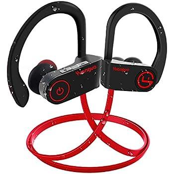 a58088c6bf3 Muzili Bluetooth Earphones Y2 IPX7 Wireless Sport Headphones with Richer  Bass HiFi Stereo for Android or IOS PhoneMuzili Bluetooth Earphones Y2 IPX7  ...