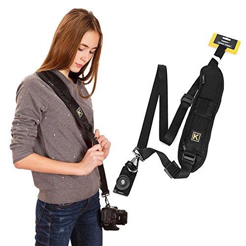 Cinghia Spalla di Fotocamera Cinghie Telecamera Laccio Sony Cintura per Fotocamera Nikon Reflex Cinghia da Collo Tracolla per Canon Macchina
