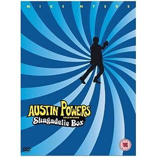 Austin Powers Shagadelic Box [DVD]