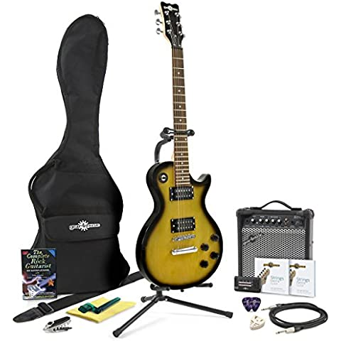 Chitarra elettrica New Jersey II + pack completo vintage sunburst