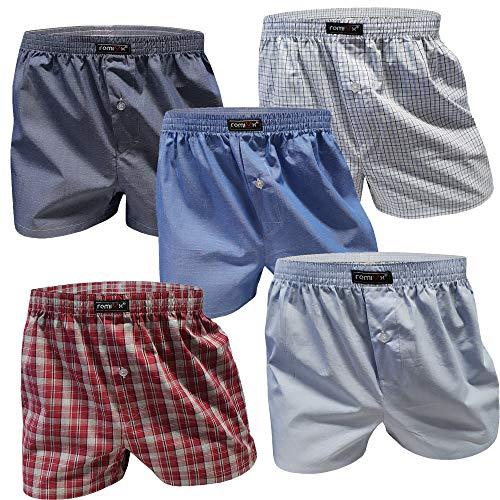 5 Stück Boxershorts für Jungen Baumwolle Unterhosen Kinder (XXL/16, 5er Pack)