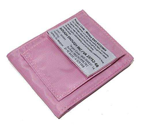rough-enough-luz-suave-y-nailon-bifold-militar-thin-funcional-cartera-rosa