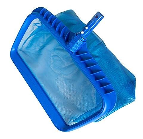 Shark piscine à feuilles HD–Heavy Duty Plastique Râteau de nettoyage en profondeur pour piscines