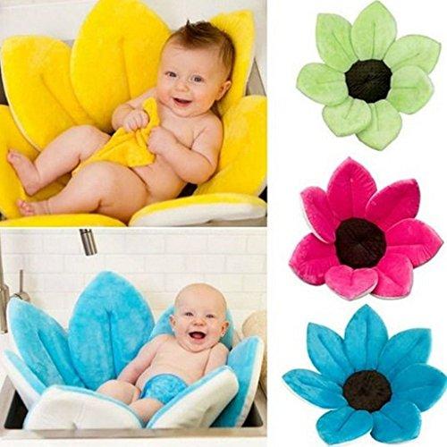 Baby Bath Blooming Blume Badewanne - Highdas Blühendes Bad Blumenbad für Baby Blooming Sink Bad für Baby Infant Lotus - 3