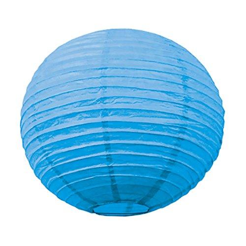 Tim & Puce 5024L - Farolillos japoneses (50 cm), Color Azul