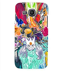 ColourCraft Cartoons Abstract Design Back Case Cover for SAMSUNG GALAXY ACE 3 LTE S727