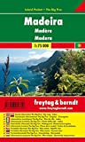 Madeira, Autokarte 1:75.000, Island Pocket + The Big Five, freytag & berndt Auto + Freizeitkarten