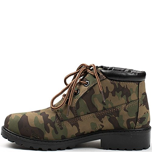 Ideal Shoes ,  Stivali donna militaire