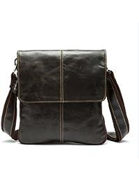 New Men Bag Fashion Leather Crossbody Bag Shoulder Men Messenger Bags Small Casual Designer Handbags Man Bags - B07B26R6JC