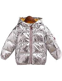 ab4785442 Amazon.co.uk  Silver - Coats   Jackets   Boys  Clothing
