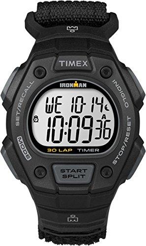Timex Reloj de hombre, Timex Ironman 30® Classic Nylon TW5K90800pantalla digital
