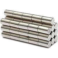 50imanes de neodimio N52, cilindro de 6x 10mm, por Meawmeaw Store