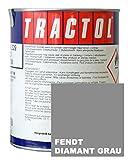 WILCKENS Schlepperlack Traktoren Lack Farbe FENDT DIAMANT GRAU 1 Liter