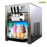 Profi Softeismaschine selbstkühlend 1500W 28-36L/St. Speiseeismaschine Eiscreme Maschine für Gastronomie