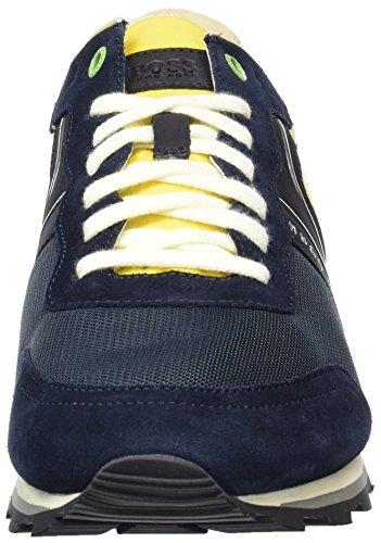 Homme Parkour 406 Verde 01 10191435 blu Bleu nymx Scuro Bassi runn Boss Sneakers 8dx7Fq8