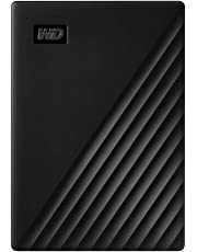 Western Digital 1TB My Passport Portable External Hard Drive, Black - with Automatic Backup, 256Bit AES Hardware Encryption & Software Protection