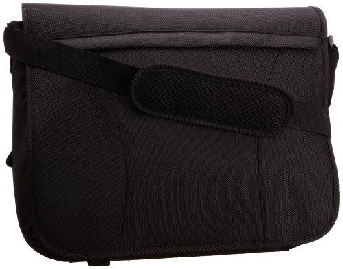 Bugatti Bags Uni Messenger Bag, Querformat,onTour, schwarz, 42x34x18, 49411101 (Bag Messenger Courier)