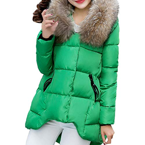 Preisvergleich Produktbild Subfamily-P & S & O Damen Winterjacke Wintermantel Lange Daunenjacke Jacke Outwear Frauen Winter Warm Daunenmantel Steppjacke Mantel Oberbekleidung Ultraleichte Daunenjacke Black Friday Cyber Monday