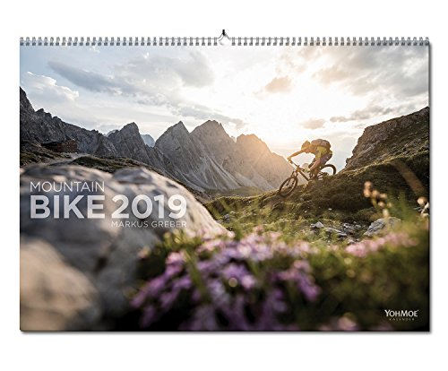 Mountainbike Kalender 2019 by Markus Greber. MTB, Mountain, Bike, Wandkalender im DIN A2 Panorama Format. (2019)