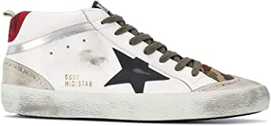 Golden Goose Luxury Fashion Uomo GMF00122F00039380345 Bianco Pelle Hi Top Sneakers | Stagione Permanente