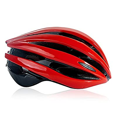 Fengding Cycle Helmets for Men and Ladies, Male and Female Road/Mountain Adjustable Cycle Helmet for Head Protection from Fengding