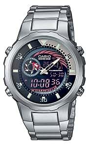 Casio - MRP-703D-1AVEF - Montre Homme - Multifonction - Quartz analogique et digitale - Bracelet acier