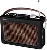 Bluetooth Radio | Retroradio | Tragbares Radio | Retro Radio | Duschradio | Nostalgie Radio | Küchenradio | Camping Radio | Baustellen Radio | Radio | USB | SD | AUX IN | Kopfhörereingang |