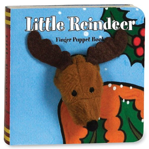 Little Reindeer [With Finger Puppet] (Finger Puppet Book)