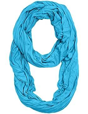 Masterdis Wrinkle Loop bufanda bufanda, unisex, 10054, turquesa, talla única
