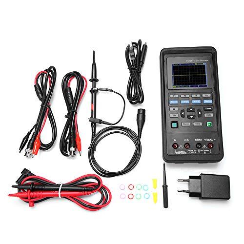 Hantek Digital Oscilloscope 2D72/2D42 70MHz/40MHz 2CH Oscilloscope Multimeter 25M Signal Generator AC100-240V(Hantek2D42)