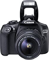 Canon EOS 1300D Digitale Spiegelreflexkamera (18 Megapixel, APS-C CMOS-Sensor, WLAN mit NFC, Full-HD) Kit inkl. EF-S 18-55mm III Objektiv