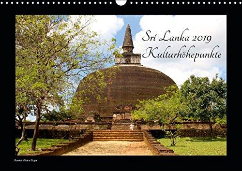 Sri Lanka 2019 Kulturhöhepunkte (Wandkalender 2019 DIN A3 quer): Sri Lankas kulturelle Highlights in hochauflösenden Bildern. (Monatskalender, 14 Seiten ) (CALVENDO Orte)