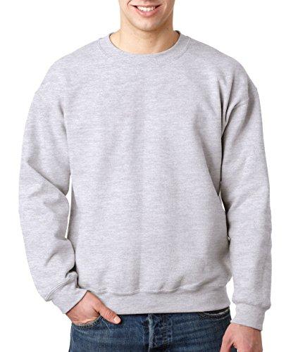 Gildan Heavy Blend Pullover mit Rundausschnitt (M) (Aschgrau) M,Aschgrau