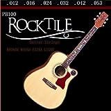 Rocktile Cordes Guitare de Western / Folk Light