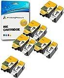 10 XL Druckerpatronen für Kodak ESP C100, C110, C115, C300, C310, C315, C330, C360, 1.2, 3.2, 3.2S, Office 2100, 2150, 2170 AIO, Hero 2.2, 3.1, 4.2, 5.1 | kompatibel zu Kodak 30B, 30CL