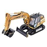 13-Kanal Spielzeugauto Ferngesteuerter Bagger Modell Elektrisches Kabelloses Spielzeug mit Fernbedienung