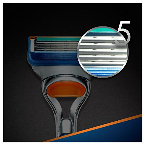 Gillette Fusion   Maquinilla de afeitar + 10 cuchillas de recambio para maquinilla de afeitar
