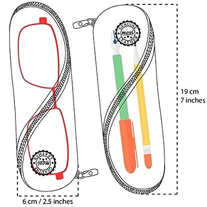 51VxBaXEyhL. SS416  - Estuche de gafas delgadas, estuche de lápices y cartuchera ~ Estuche suave de corcho portugués, estilo vintage, hecho a mano