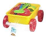 1 x Sandwagen Handwagen Sandspielzeug Strandspielzeug Eimer Förmchen Gießkanne