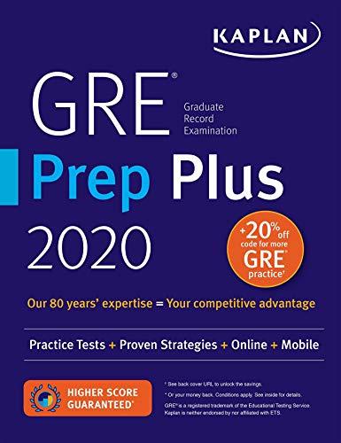 GRE Prep Plus 2020: Practice Tests + Proven Strategies + Online + Video + Mobile (Kaplan Test Prep) - Mobile-reviews