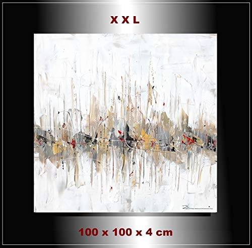 "Malerei handgemalt Gemälde Wandbild Skyline""Impression"" Zenic"