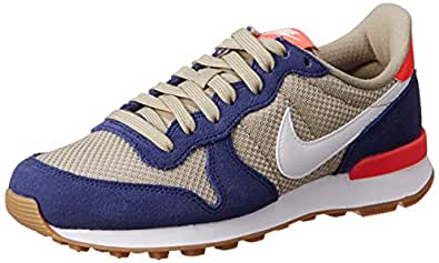 ... NIKE WMNS Internationalist 828407-408 Loyal Blue Bamboo White Women s  Shoes (Size 9 b436a6d5f4