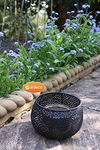 Garden Outdoors Or Indoors Lace Fire Gel Burner Heater Including One Tin Of Fire Gel