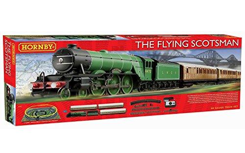 Hornby R1167 Flying Scotsman OO gauge Electric Train Set