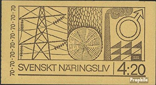 Prophila Collection Schweden MH26I (kompl.Ausg.) 1970 Wirtschaft und Industrie (Briefmarken für Sammler)