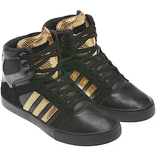 adidas bbneo salut haut x F38018 High Top Sneaker en noir Noir