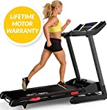 X-LITE AUTO TREADMILL 2017 MODEL - AUTO-Lubrication System (Exclusive) + BMI Calculator + 15% AUTO-Incline + SHOCK Absorption System + HYDRAULIC Folding System - Motorised Folding Running Machine - BRAND NEW MODEL w POWERFUL 1500W Motor