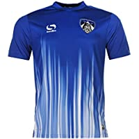 93390d8815 Sondico Mens Oldham Athletic Pre Match Shirt Football Sports Short Sleeve  Tee