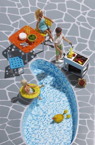 Lundby 60.9027.00 - Stockholm: Mobili per terrazza (accessori per casa delle bambole)