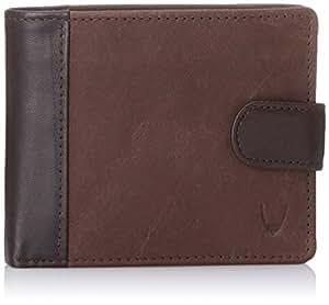 Hidesign Leather Brown Men's Wallets (276 038SB-CAMEL LAMB-BROWN)